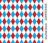 seamless harlequin pattern... | Shutterstock .eps vector #1049455445