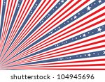 4th of july independence day... | Shutterstock .eps vector #104945696