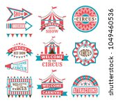 labels in retro style. logos... | Shutterstock .eps vector #1049460536