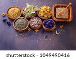 natural alternative herbal... | Shutterstock . vector #1049490416