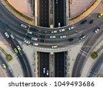 expressway top view  road... | Shutterstock . vector #1049493686