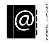 organizer planner book icon  ... | Shutterstock .eps vector #1049499275