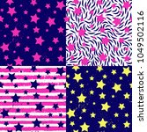 teen party abstract stars ... | Shutterstock .eps vector #1049502116