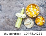 thai style scented water... | Shutterstock . vector #1049514236