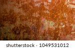 dark worn rusty metal texture... | Shutterstock . vector #1049531012