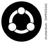collaboration icon. vector...   Shutterstock .eps vector #1049533262