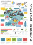 global environmental problems.... | Shutterstock .eps vector #1049549102