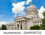 missouri state capitol building ... | Shutterstock . vector #1049550722