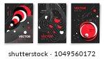 vector new memphis style poster ... | Shutterstock .eps vector #1049560172