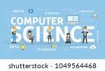 computer science concept... | Shutterstock .eps vector #1049564468