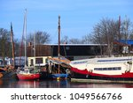 museumswerft  historic dockyard ... | Shutterstock . vector #1049566766