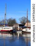 museumswerft  historic dockyard ... | Shutterstock . vector #1049566802
