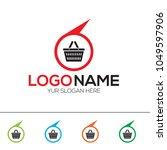 online store logo design... | Shutterstock .eps vector #1049597906