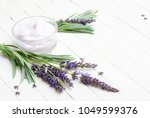 cosmetic cream and fresh... | Shutterstock . vector #1049599376