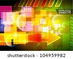 abstract vector background   Shutterstock .eps vector #104959982