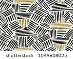 vector seamless pattern with... | Shutterstock .eps vector #1049608025
