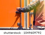business and logistic  the... | Shutterstock . vector #1049609792