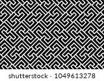 abstract geometric pattern with ... | Shutterstock .eps vector #1049613278