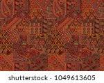 seamless traditional pattern | Shutterstock . vector #1049613605