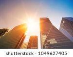 skyscrapers in paris business... | Shutterstock . vector #1049627405
