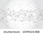 internet connection  abstract... | Shutterstock .eps vector #1049631488