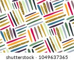 vector seamless pattern with... | Shutterstock .eps vector #1049637365