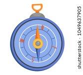 compass icon. flat illustration ...   Shutterstock .eps vector #1049637905