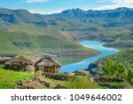 Lesotho Traditional Hut House...