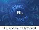 abstract big data illustration. ... | Shutterstock .eps vector #1049647688