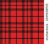 tartan  plaid  seamless pattern.... | Shutterstock .eps vector #1049658935