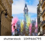 fallas of valencia  spain.... | Shutterstock . vector #1049666795