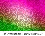 light pink  green vector... | Shutterstock .eps vector #1049688482