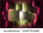 abstract composition of squares ... | Shutterstock .eps vector #1049701082