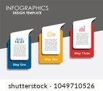 infographic template. vector... | Shutterstock .eps vector #1049710526
