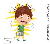 vector illustration of kid... | Shutterstock .eps vector #1049726918
