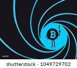 crypto currency bitcoin in the... | Shutterstock .eps vector #1049729702