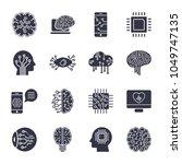 simple set of artificial...   Shutterstock .eps vector #1049747135