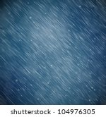 Natural Background With Rain....