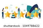 vector illustration on white... | Shutterstock .eps vector #1049788622
