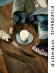 sacred space still life with... | Shutterstock . vector #1049803418
