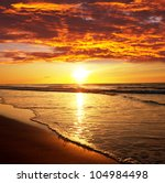 sea sunset | Shutterstock . vector #104984498