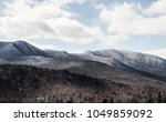 beautiful mountain terrain... | Shutterstock . vector #1049859092