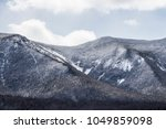 beautiful mountain terrain... | Shutterstock . vector #1049859098