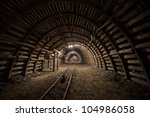 modern coal mine | Shutterstock . vector #104986058