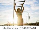 fit african american woman... | Shutterstock . vector #1049870618