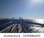 Ferry Boat Platform With...