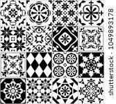 vector seamless tile pattern.... | Shutterstock .eps vector #1049893178