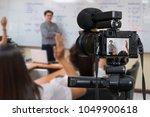 professional digital mirrorless ...   Shutterstock . vector #1049900618