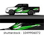 truck  car and vehicle racing... | Shutterstock .eps vector #1049906072