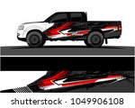 truck  car and vehicle racing...   Shutterstock .eps vector #1049906108